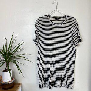 Brandy Melville Super Soft Striped T-shirt Dress